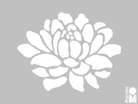Marabu 3D-Schablone 15x20 cm
