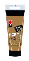 Marabu Pâte acrylique, or 084, 100 ml