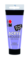 Marabu Acryl Mousse, lavande 007, 100 ml
