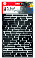 Marabu Art Stencil DIN A4 Bricks