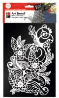 Marabu Art Stencil DIN A4 Zentangle