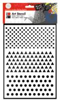 Marabu Art Stencil DIN A4 Basic Combination