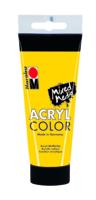 Marabu Acryl Color, jaune 019, 100 ml
