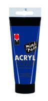 Marabu Acryl Color, bleu foncé 053, 100 ml