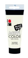 Marabu Acryl Color, blanc 070, 100 ml