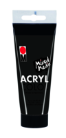 Marabu Acryl Color, noir 073, 100 ml