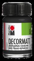 Marabu Decormatt Acryl, noir 073, 15 ml