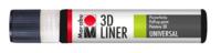 Marabu 3D-Liner, noir 3D 673, 25 ml