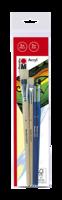 Marabu set de pinceaux Acryl